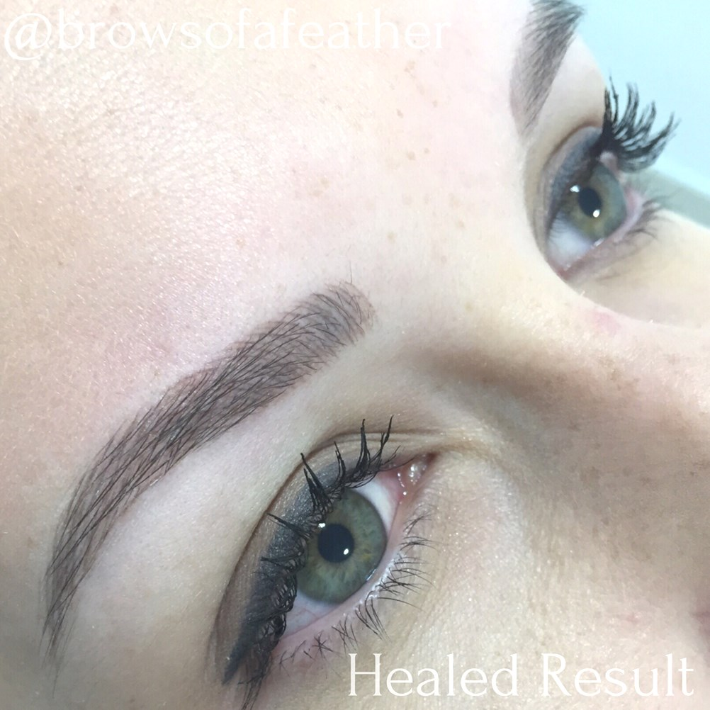 Brows of a Feather | Semi Permanent Hair Stroke Tattooing